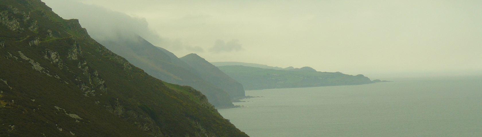 Misty Devon Cliffs