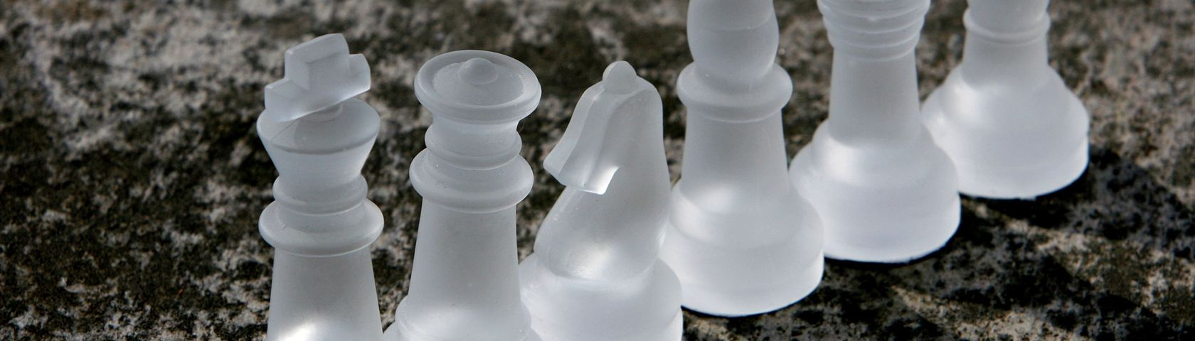 Frosted Glass Chess