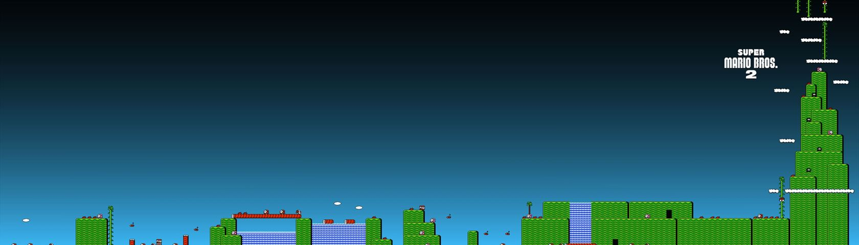 Super Mario Bros 2 Images Wallpaperfusion By Binary Fortress