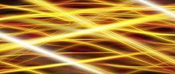 Gold Yellow Fractal Pattern