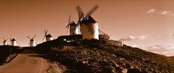 Windmills Sepia Style