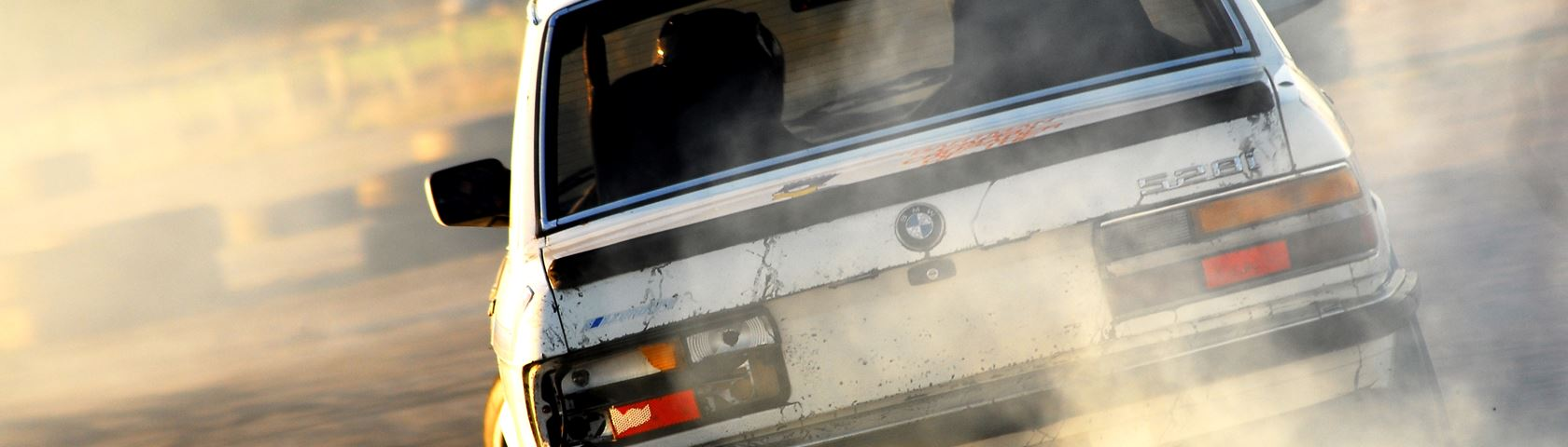 Drifting BMW 528i