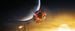 Orbital Explosion