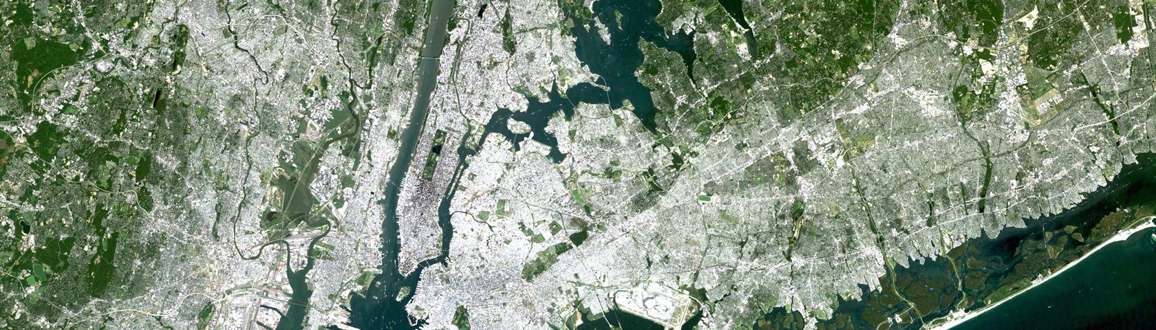NASA Satellite Captures Super Bowl Cities: New York