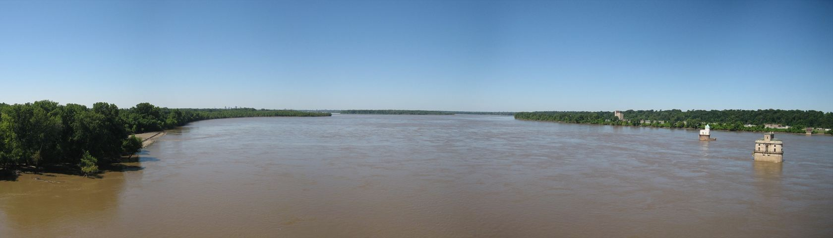 Muddy Mississippi River