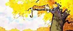 Calvin & Hobbes Relaxation