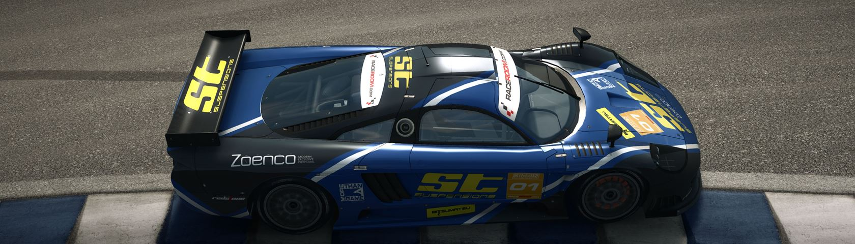 In-Game shot from RaceRoom