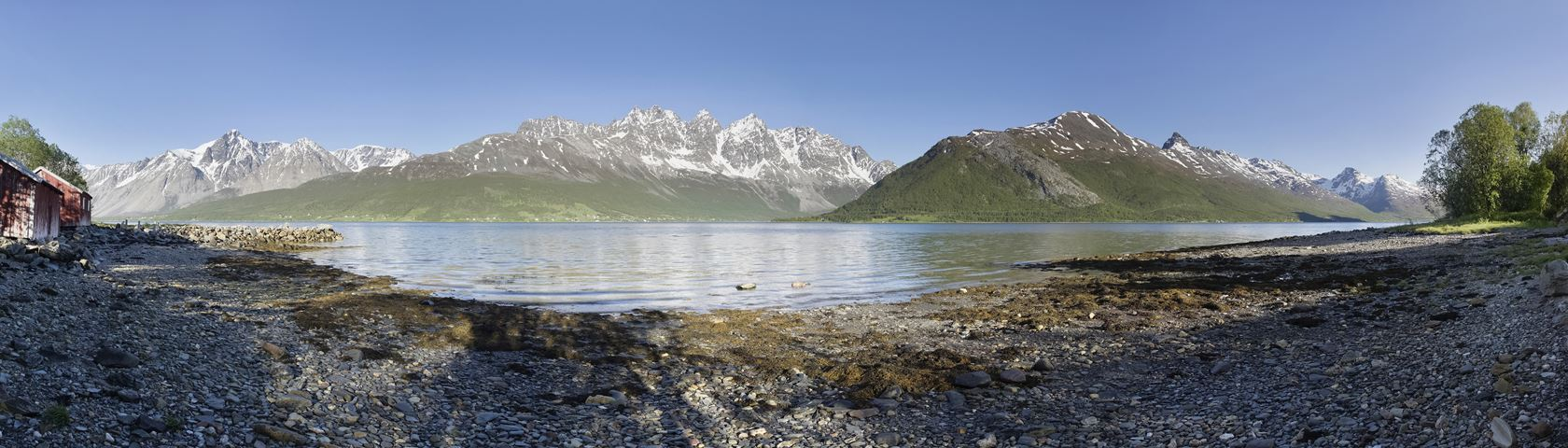 Wide View Over Sørfjorden