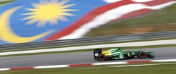 Caterham Renault in Malaysia