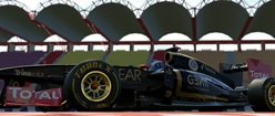 2013 Lotus F1 Car in Project CARS