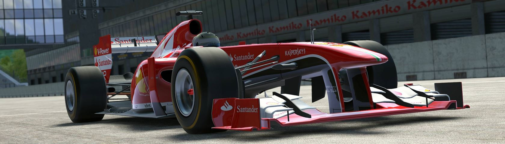 2013 Ferrari F1 Car in Project CARS