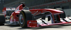 2013 Ferrari F1 Car in Project CARS