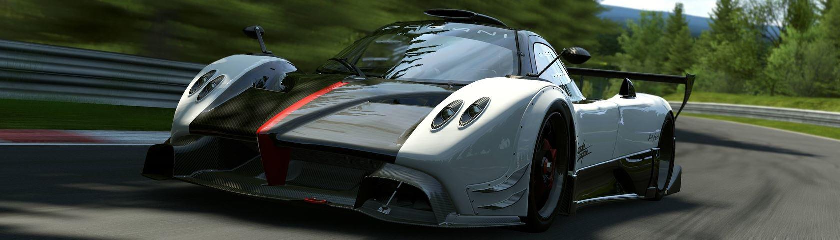 Pagani Zonda in Project CARS