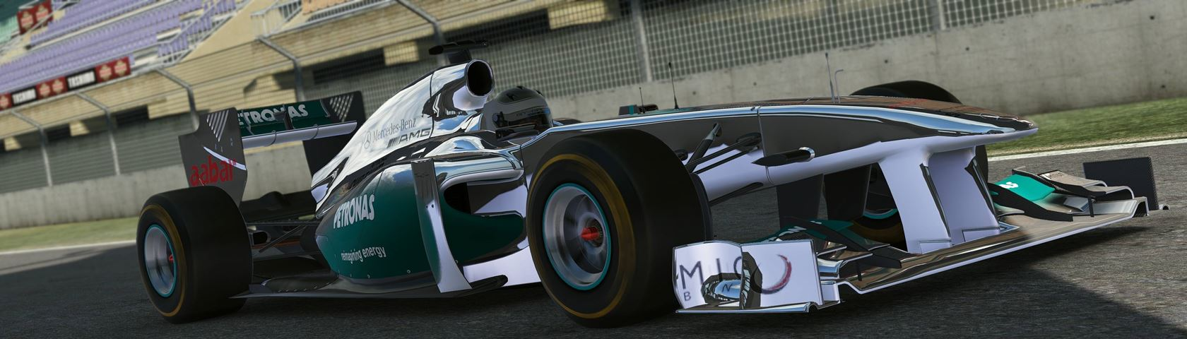 2013 Mercedes F1 Car in Project CARS