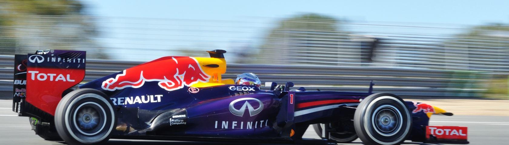 Sebastian Vettel's 2013 Red Bull Car