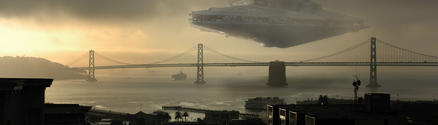 A Star Destroyer in San Francisco