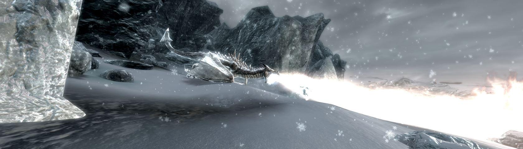 Skyrim Dragon