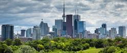 Cloudy Toronto Skyline