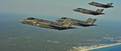 F-35A Lightning II Fighter Jets