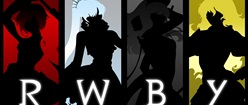 RWBY Silhouette Labeled