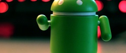 Android Pointing to the Future (portrait)