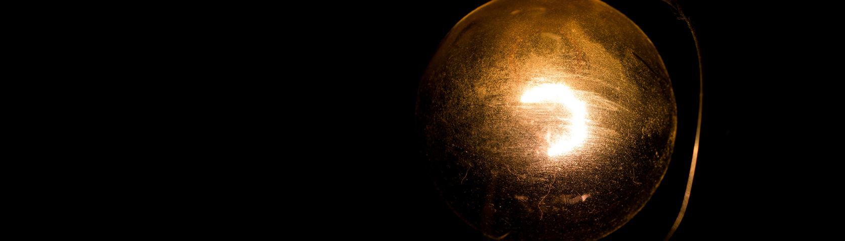 Dirty Light Bulb