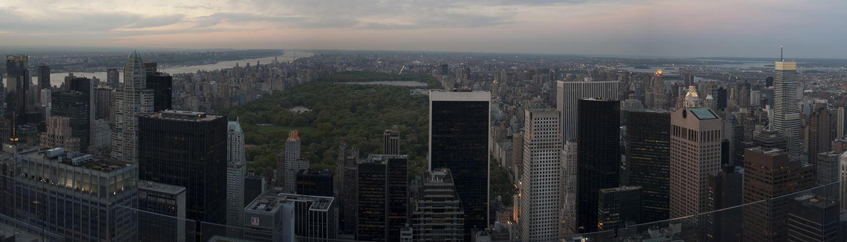 Central Park from the Skyscrapers