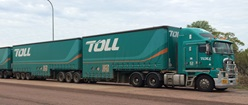 Toll NQX Quad Road Train