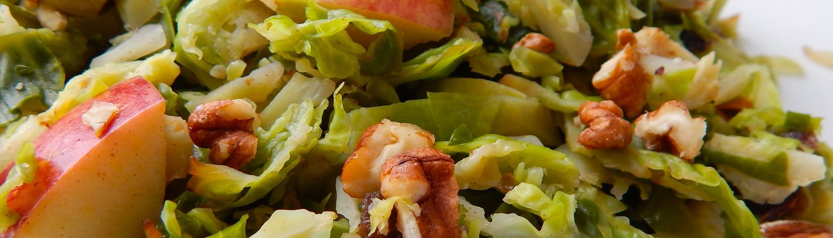Brussels Sprouts with Apples and Pecans