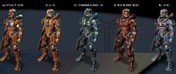 Halo 4 Spartans