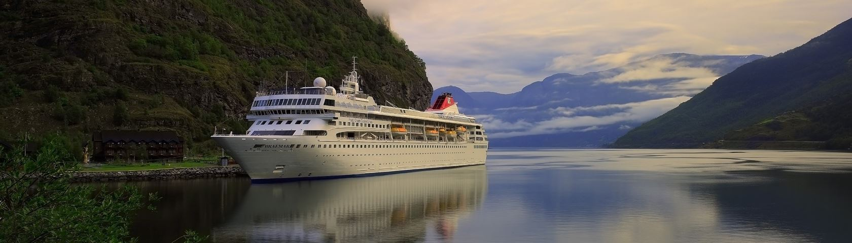Cruising a Fjord
