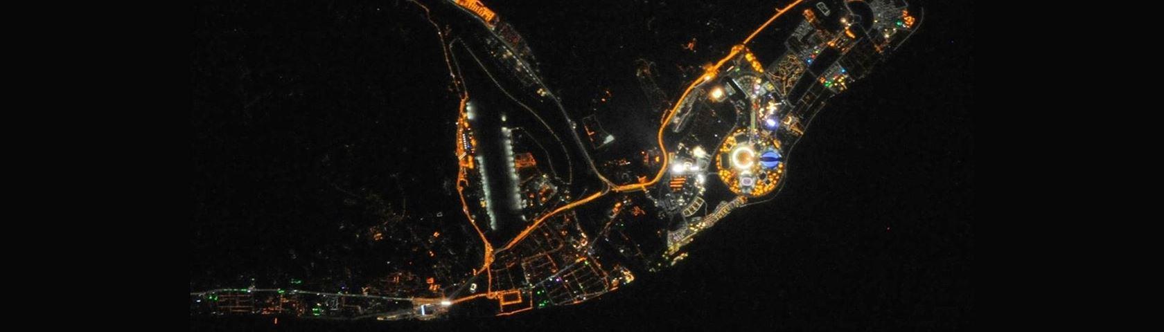 Sochi's Olympic Lights