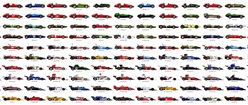 Formula 1 Cars: 1950 to 1979