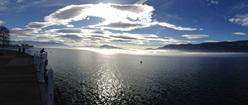 Fog Blankets Okanagan Lake