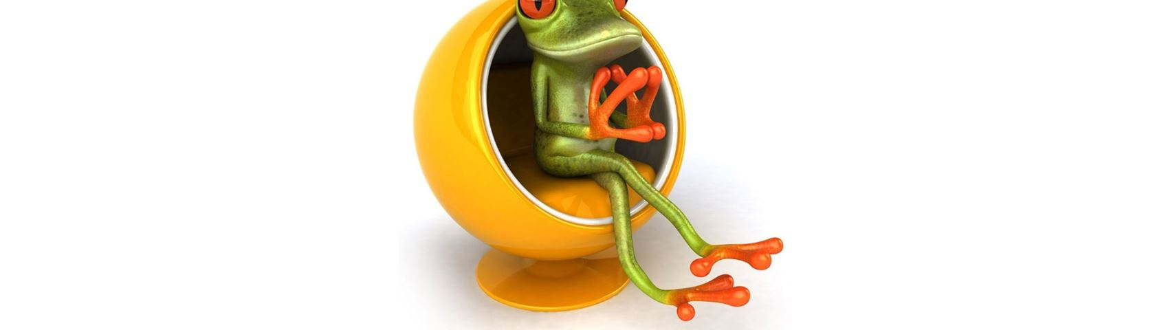 Cute Frog Thinking
