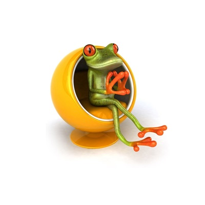 Cute frog thinking images wallpaperfusion by binary for Frog software