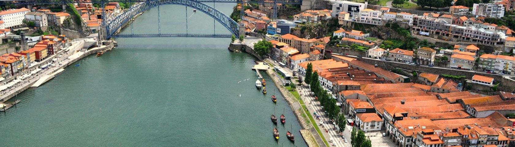 Porto from the Sky
