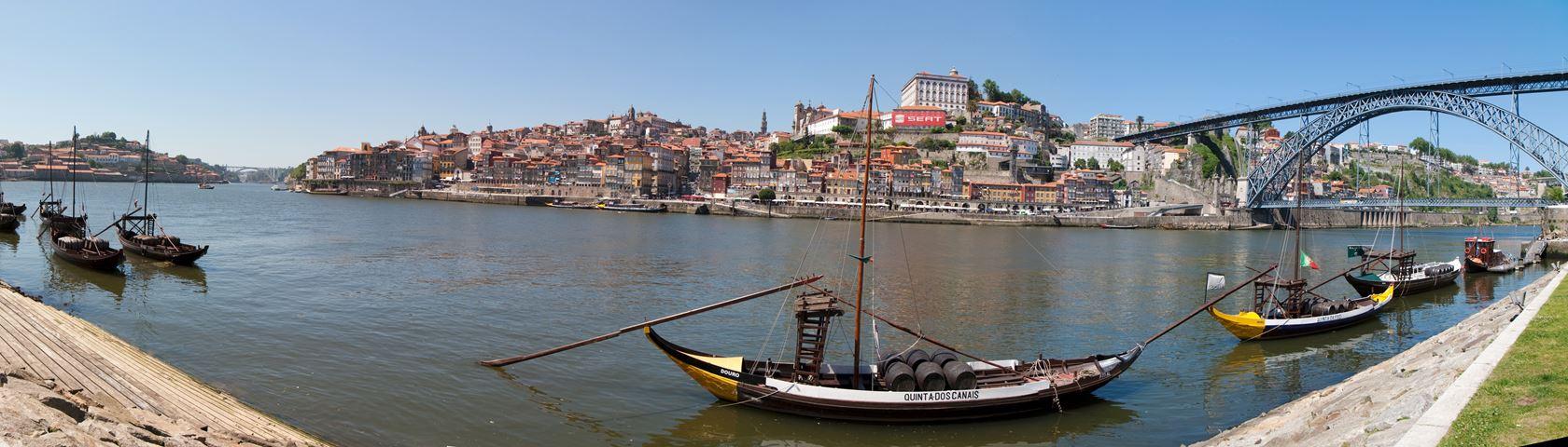 Hi-Res Panorama Porto Portugal