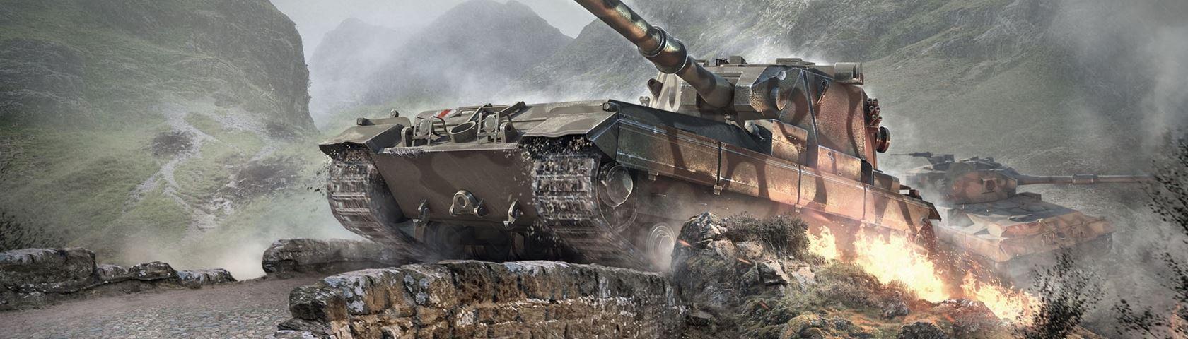 World of Tanks: FV215b