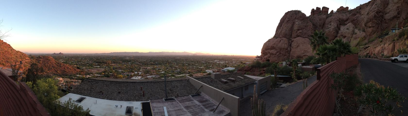 View from my home in Phoenix, AZ