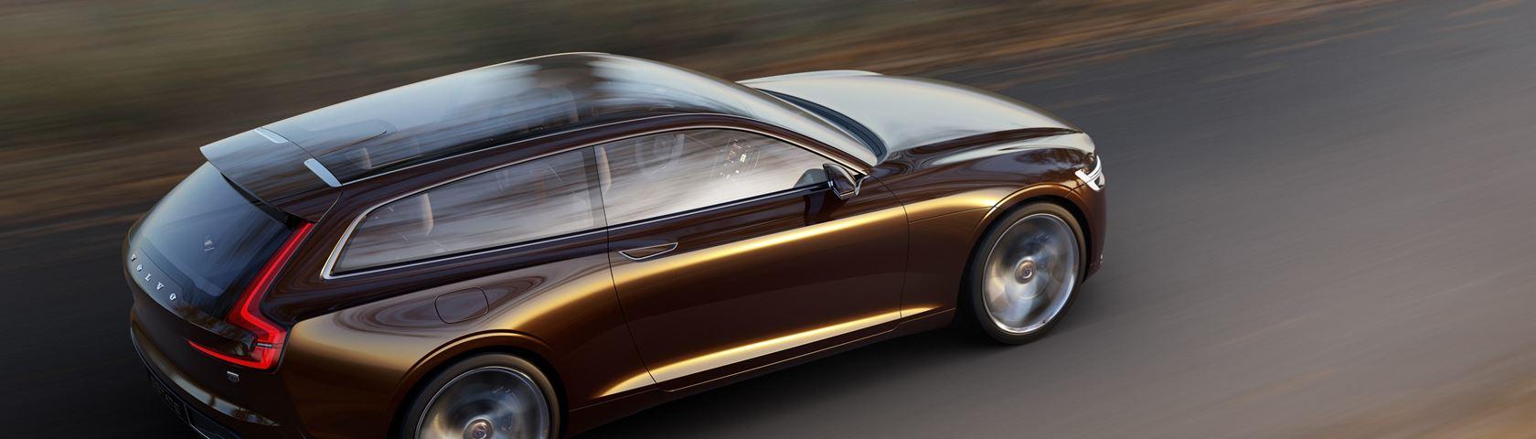 Volvo Concept Estate in Motion