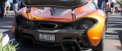 McLaren P1 Rear View (Porsche 918 for lunch, LaFerrari for dinner)