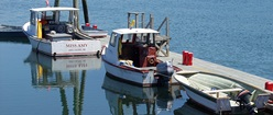 Three Boats In Maine