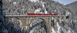 Wiesner Viaduct & Rhaetian Railway (Switzerland)