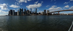 Panorama Manhattan Island