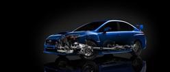 Subaru WRX-STI Internals