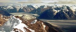 Glacier near Kluane Lake, Yukon