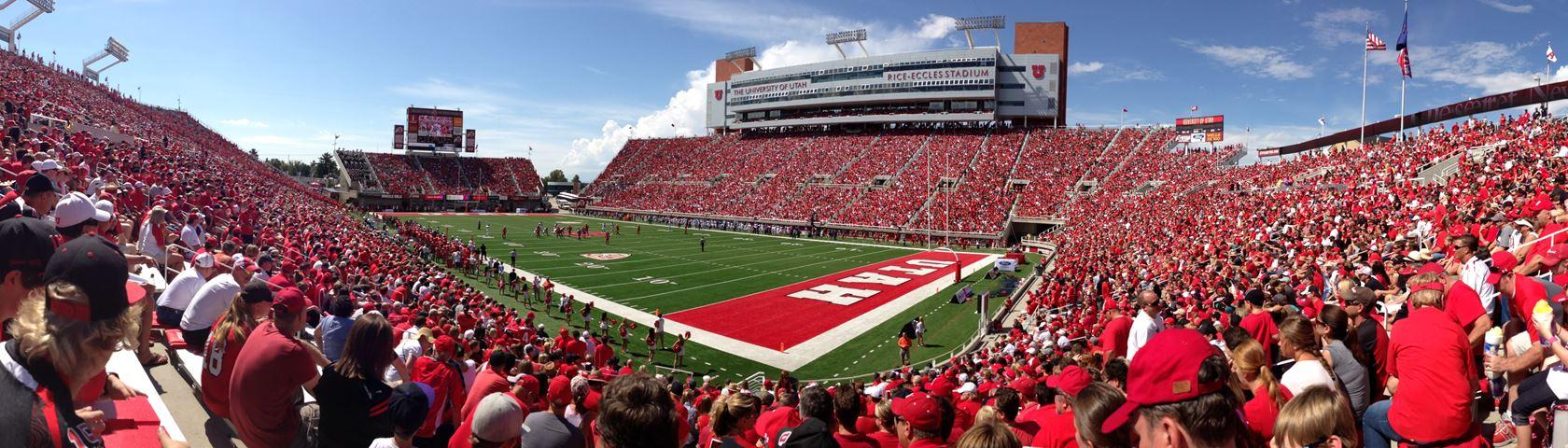 Rice Eccles Stadium University of Utah