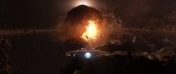 Star Citizen - Dying Star - Super Hornet