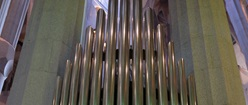 Organ Pipes - Sagrada Familia - Barcelona